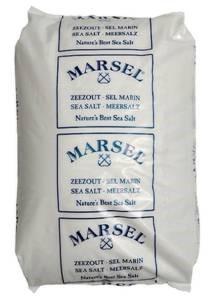 Mořská hrubá sůl do bazénu Marsel 40x25kg